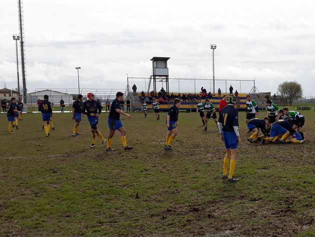 Rugby Frassinelle in campo anche in questo week and