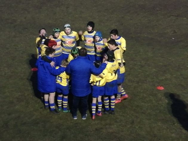 Ancora vittoriosa l'Under 14 del Rugby Frassinelle