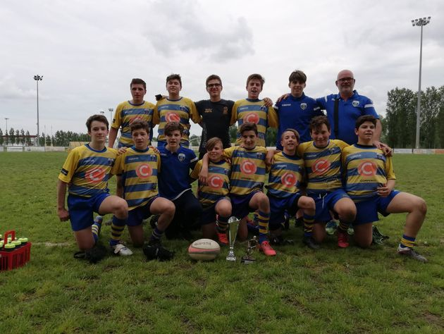 L'Under 14 del Rugby Frassinelle suggella una splendida stagione