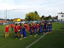 Esordio assoluto per l'Under 14 del Rugby Frassinelle